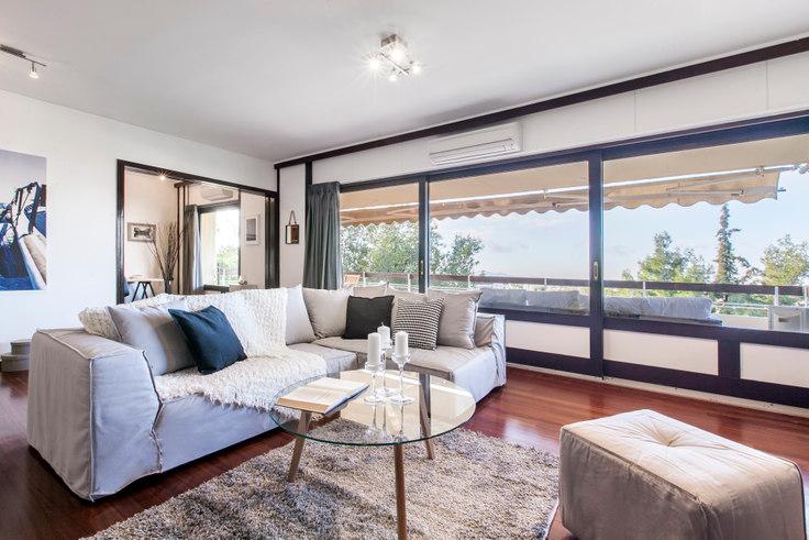 3 bedroom furnished apartment in Vasileos Pyrou 46, Politia, Athens, photo 1