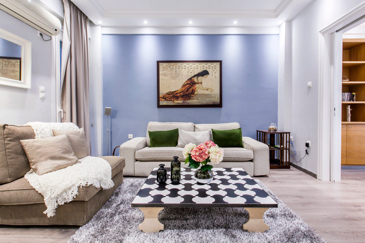 1 bedroom furnished apartment in Skoufa 65, Kolonaki, Athens, photo 1