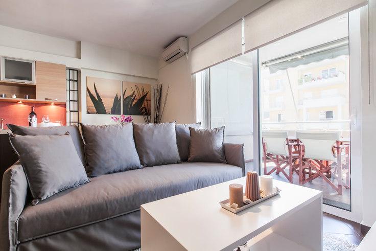1 bedroom furnished apartment in Vasileiou Tou Megalou A41, Historic Center, Athens, photo 1