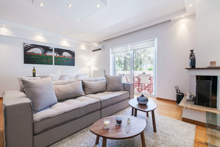 3 bedroom furnished apartment in Georgiou Kondyli II 160, Alimos, Athens, photo 1