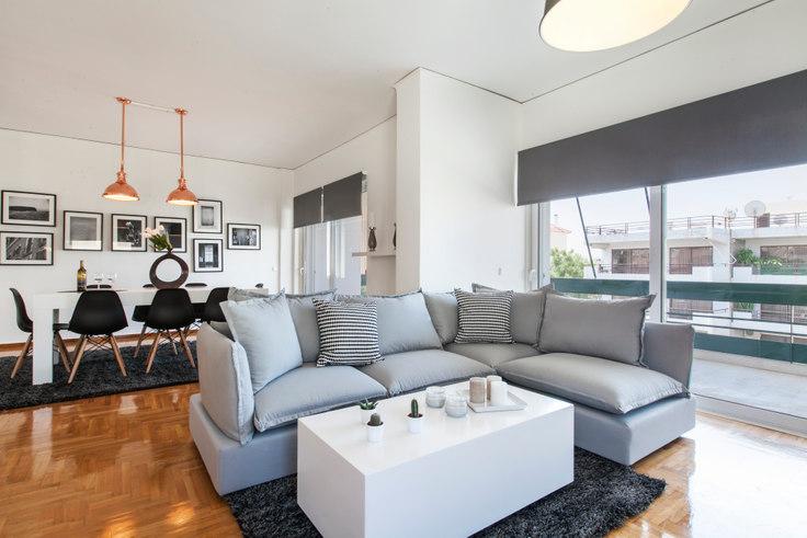 3 bedroom furnished apartment in Daskaroli 161, Glyfada, Athens, photo 1