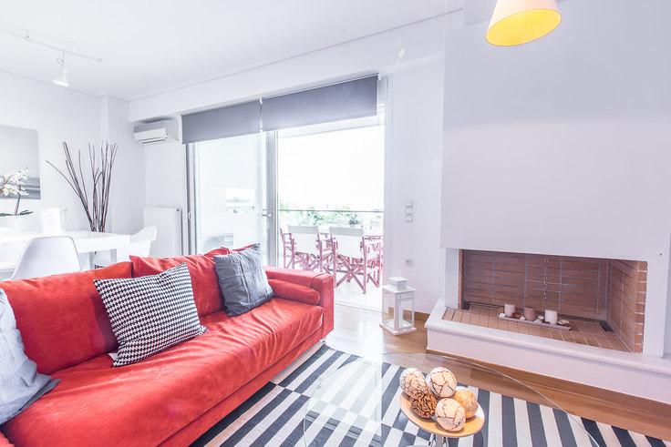3 bedroom furnished apartment in Themistokleous I 176, Agia Paraskevi, Athens, photo 1