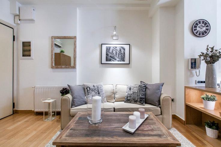 Studio furnished apartment in Iridanou I 202, Vasilissis Sofias Avenue, Athens, photo 1