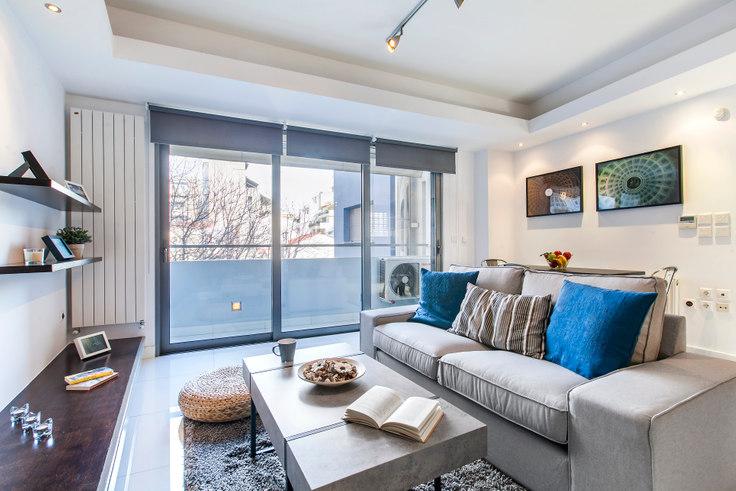 Studio furnished apartment in Arktinou 247, Pangrati, Athens, photo 1