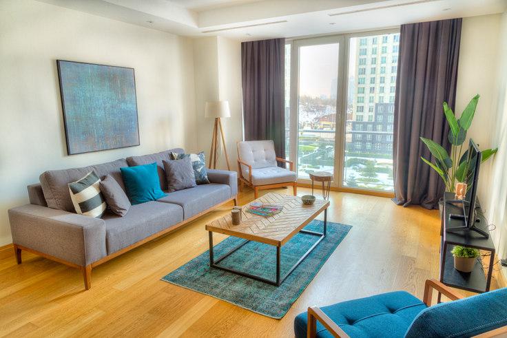 3 bedroom furnished apartment in Mashattan - 28 28, Maslak, Istanbul, photo 1