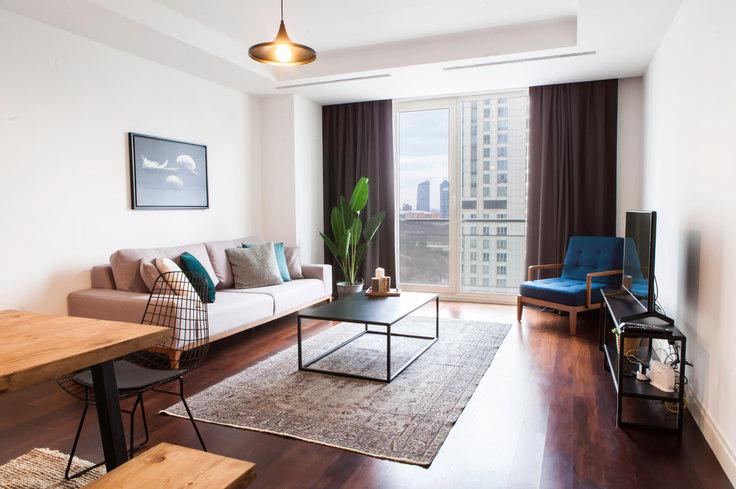 3 bedroom furnished apartment in Mashattan - 30 30, Maslak, Istanbul, photo 1