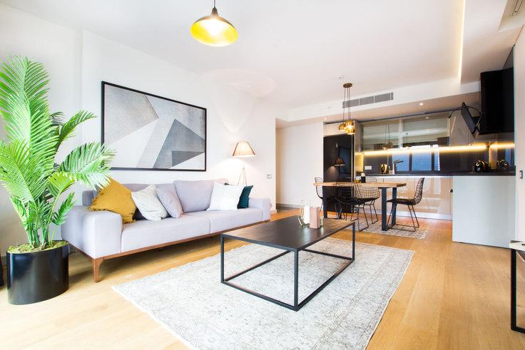 2 bedroom furnished apartment in Nidapark - 34 34, Yıldız, Istanbul, photo 1