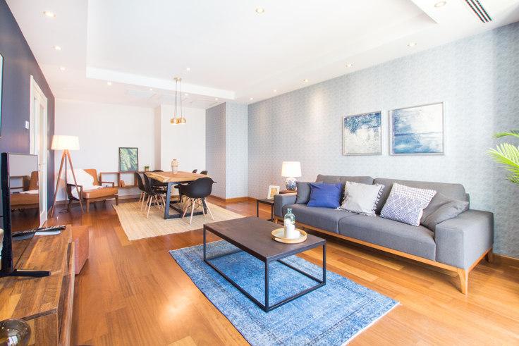 3 bedroom furnished apartment in Mashattan - 35 35, Maslak, Istanbul, photo 1