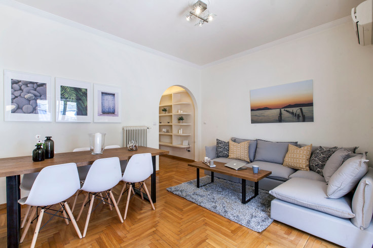 2 bedroom furnished apartment in Alopekis I 283, Kolonaki, Athens, photo 1