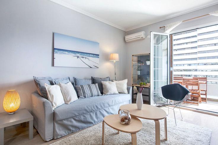 2 bedroom furnished apartment in Kifisias Avenue II 289, Ampelokipoi, Athens, photo 1