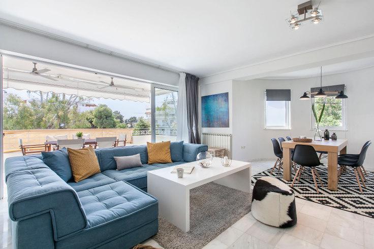 3 bedroom furnished apartment in Vasileos Pavlou II 292, Voula, Athens, photo 1