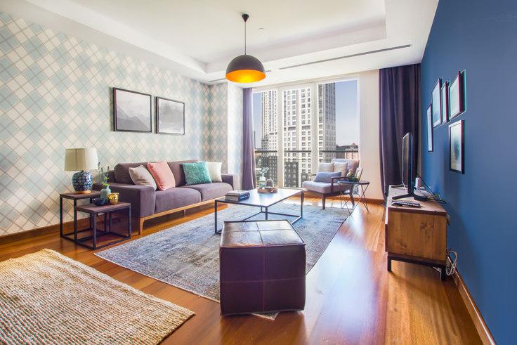 3 bedroom furnished apartment in Mashattan - 39 39, Maslak, Istanbul, photo 1