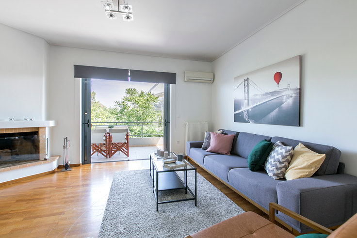 2 bedroom furnished apartment in Olimpou 107, Marousi, Athens, photo 1