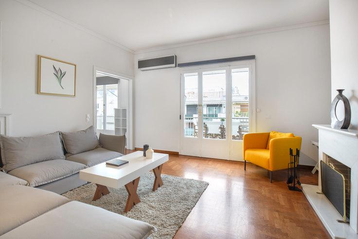 2 bedroom furnished apartment in Ipsilantou I 119, Kolonaki, Athens, photo 1