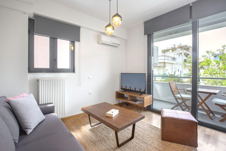 1 bedroom furnished apartment in Kiprou III 129, Chalandri, Athens, photo 1