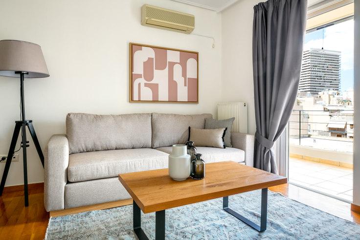 Studio furnished apartment in Evritanias 135, Ampelokipoi, Athens, photo 1