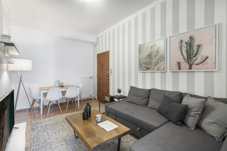 2 bedroom furnished apartment in Kolokotroni II A20, Historic Center, Athens, photo 1