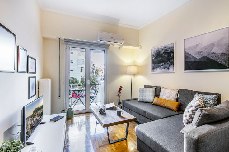 2 bedroom furnished apartment in Tsami Karatasou II A34, Acropolis, Athens, photo 1