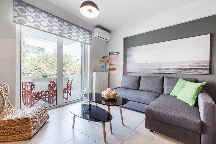 2 bedroom furnished apartment in Agnanton A36, Koukaki, Athens, photo 1