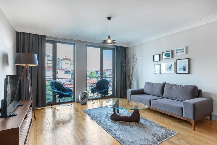 2 bedroom furnished apartment in Keten Çırağan - 9 9, Yıldız, Istanbul, photo 1