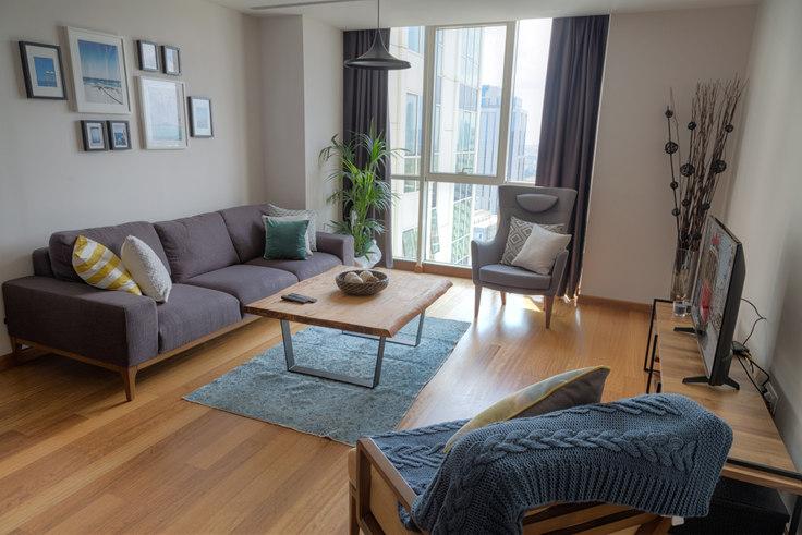 3 bedroom furnished apartment in Mashattan - 12 12, Maslak, Istanbul, photo 1