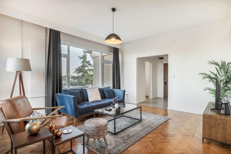 2 bedroom furnished apartment in Gazete Muhabirleri - 21 21, Ulus, Istanbul, photo 1