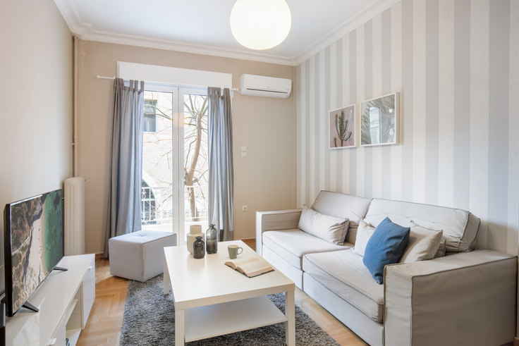 3 bedroom furnished apartment in Xenias 237, Vasilissis Sofias Avenue, Athens, photo 1
