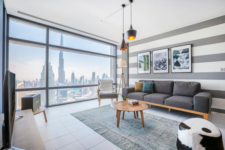 1 bedroom furnished apartment in Index  Apartment II 7, Index Tower, Dubai, photo 1
