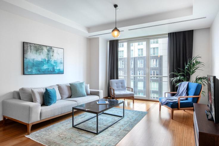 3 bedroom furnished apartment in Mashattan - 26 26, Maslak, Istanbul, photo 1