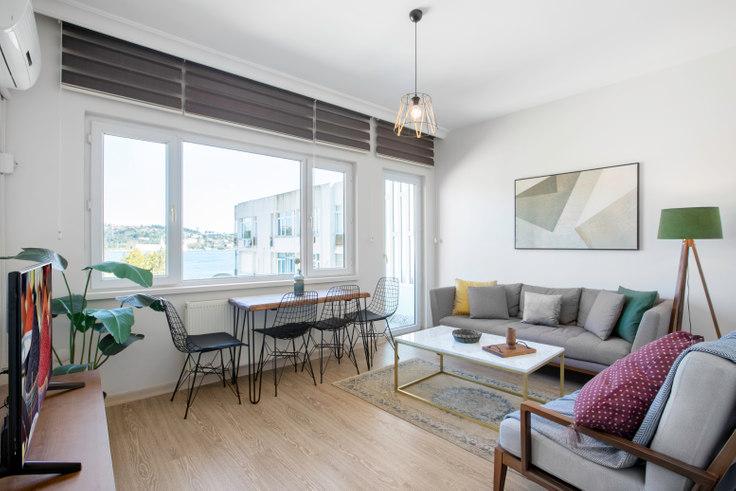 1 bedroom furnished apartment in Yeşil - 27 27, Arnavutköy, Istanbul, photo 1