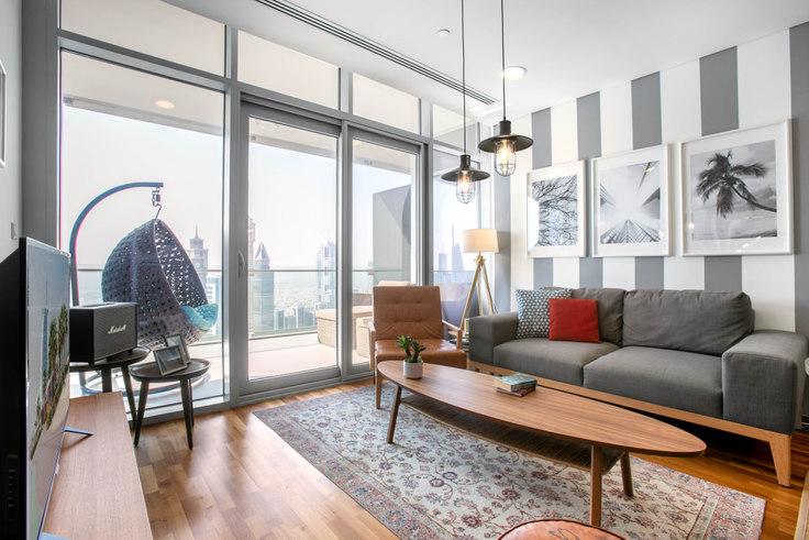 1 bedroom furnished apartment in Burj Daman Apartment IV 23, Burj Daman, Dubai, photo 1