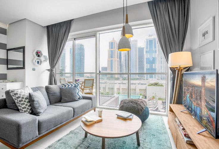 Studio furnished apartment in West Avenue Studio I 33, West Avenue, Dubai, photo 1