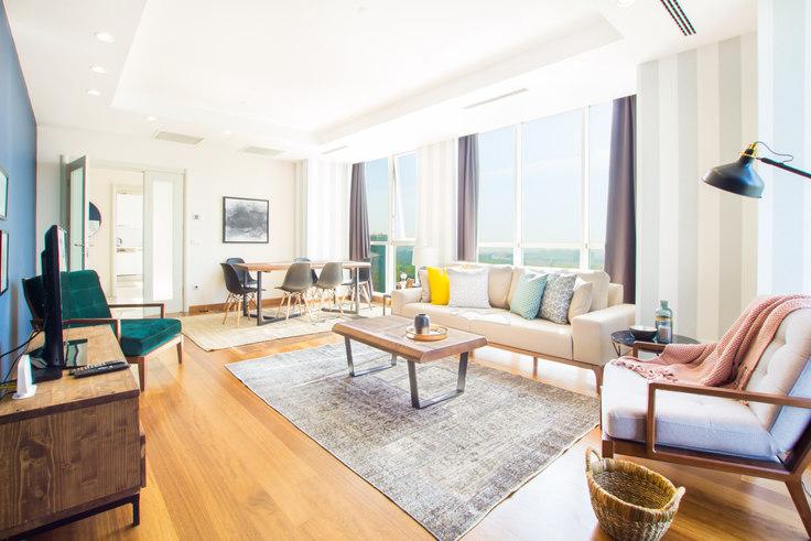 3 bedroom furnished apartment in Mashattan - 41 41, Maslak, Istanbul, photo 1