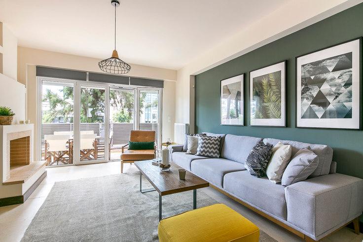 2 bedroom furnished apartment in Marathonodromou I 306, Psychiko, Athens, photo 1