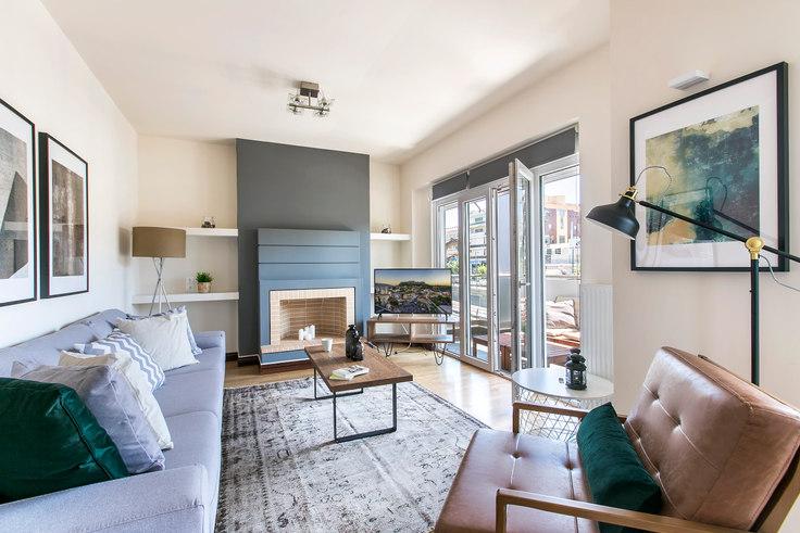 3 bedroom furnished apartment in Marathonodromou III 308, Psychiko, Athens, photo 1