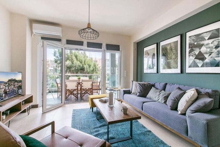 2 bedroom furnished apartment in Marathonodromou IV 309, Psychiko, Athens, photo 1