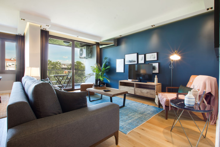2 bedroom furnished apartment in Alkent - 53 53, Etiler, Istanbul, photo 1