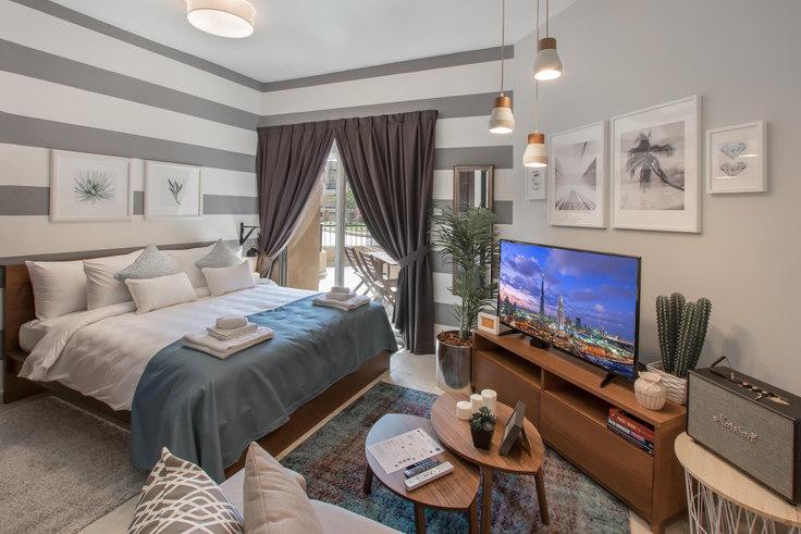 Studio furnished apartment in Diamond Views Studio 70, Diamond Views, Dubai, photo 1