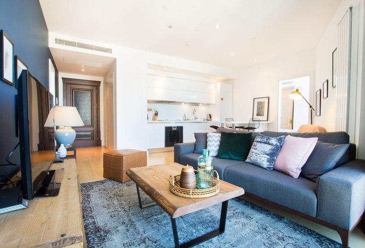 1 bedroom furnished apartment in Selenium Panorama - 55 55, Gayrettepe, Istanbul, photo 1