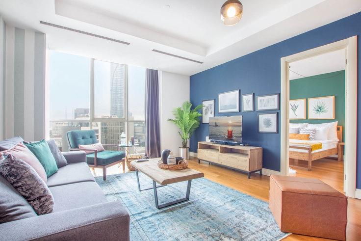 1 bedroom furnished apartment in Mashattan - 58 58, Maslak, Istanbul, photo 1