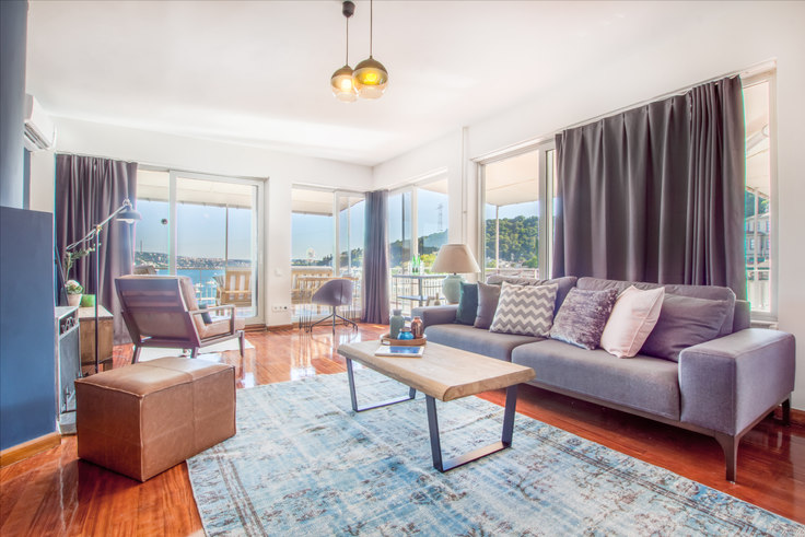 2 bedroom furnished apartment in Başaran - 63 63, Bebek, Istanbul, photo 1