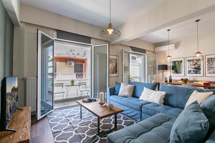 2 bedroom furnished apartment in Iridanou II 332, Vasilissis Sofias Avenue, Athens, photo 1