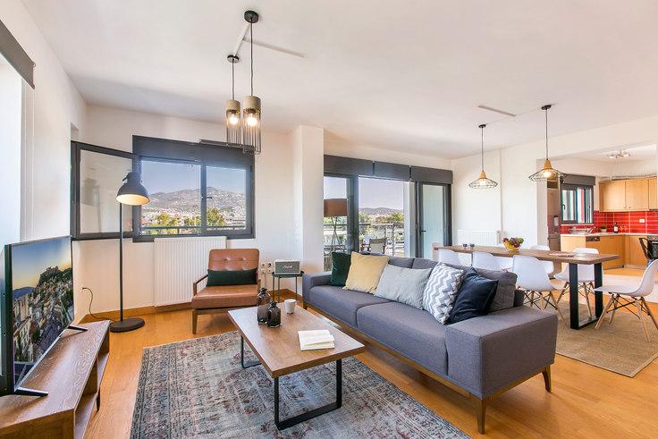 3 bedroom furnished apartment in Kissavou III 340, Chalandri, Athens, photo 1