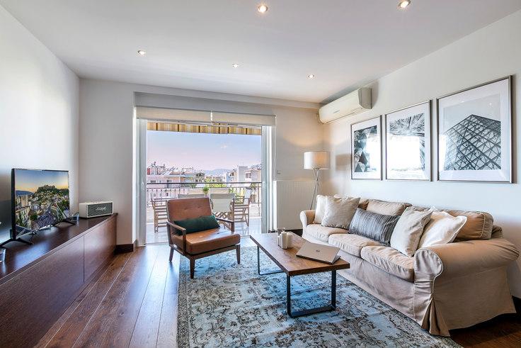 3 bedroom furnished apartment in Olimpou 348, Chalandri, Athens, photo 1