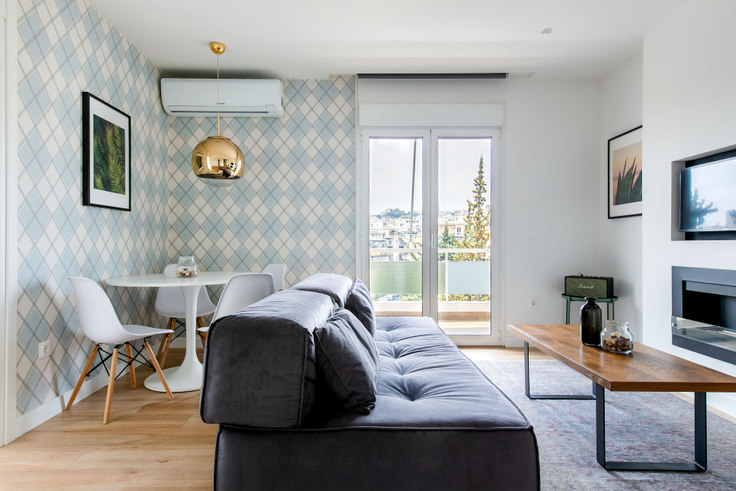 2 bedroom furnished apartment in Milopotamou 351, Ampelokipoi, Athens, photo 1