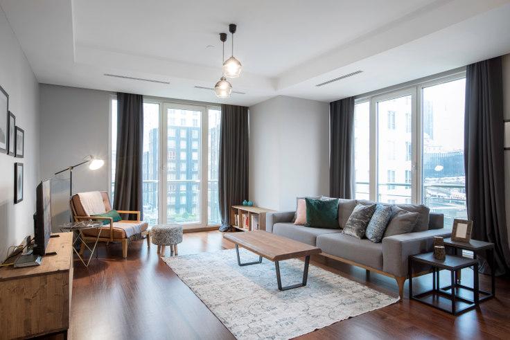 3 bedroom furnished apartment in Mashattan - 90 90, Maslak, Istanbul, photo 1