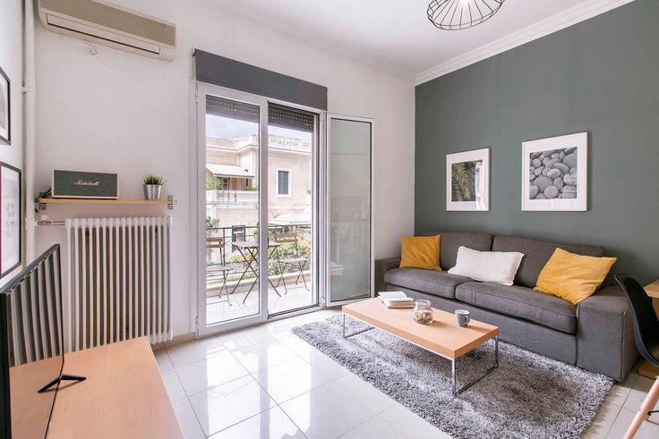 1 bedroom furnished apartment in Dimitriou Soutsou I 354, Ampelokipoi, Athens, photo 1