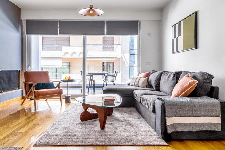 2 bedroom furnished apartment in Nikotsara 365, Ampelokipoi, Athens, photo 1