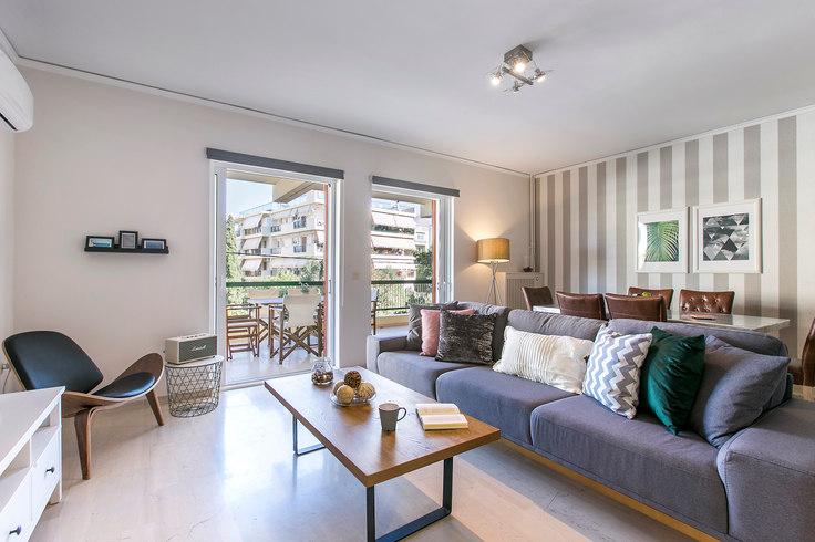 3 bedroom furnished apartment in Pandoras II 368, Glyfada, Athens, photo 1