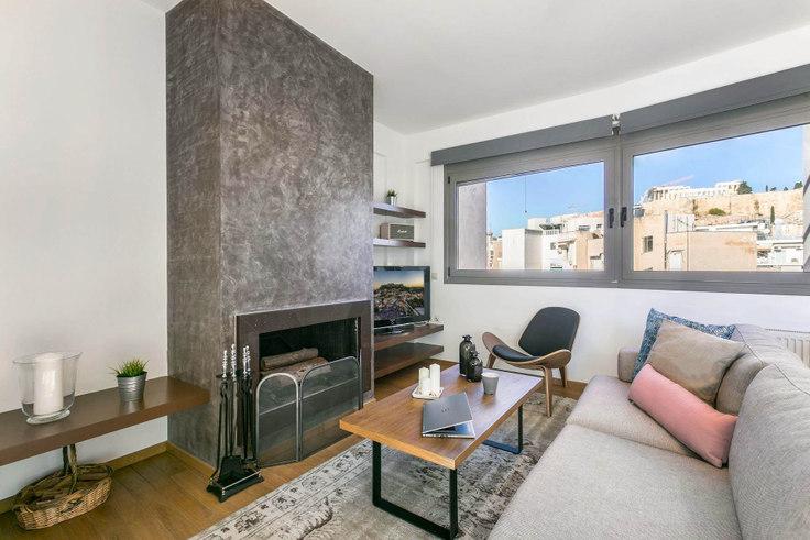 2 bedroom furnished apartment in Tsami Karatasou III 370, Acropolis, Athens, photo 1